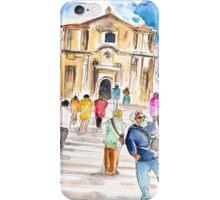 Tourists In Noto iPhone Case/Skin