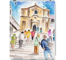 Tourists In Noto iPad Case/Skin
