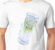 matcha milk drink illustration Unisex T-Shirt