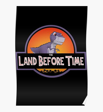 The Land Before Time - Jurassic Park Poster