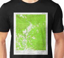 USGS TOPO Map Arkansas AR Geneva 258554 1966 24000 Unisex T-Shirt