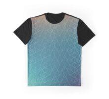 Blurred Geometry Graphic T-Shirt