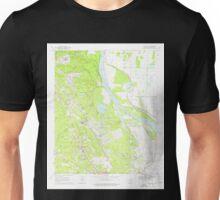 USGS TOPO Map Arkansas AR White Hall 259869 1970 24000 Unisex T-Shirt