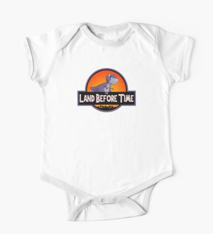 The Land Before Time - Jurassic Park One Piece - Short Sleeve