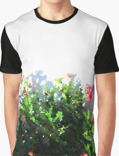 pink flowers in the sun Graphic T-Shirt