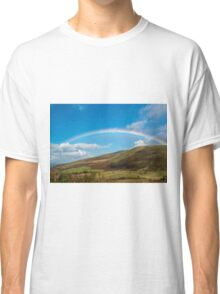 Rainbow over the Brecon Beacons Classic T-Shirt