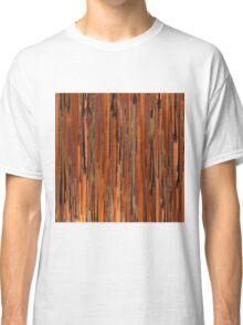 Copper Paint Stripe Classic T-Shirt