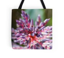 colored flowers in spring Tote Bag