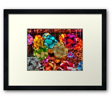 Puzzle Lamps (#1) Framed Print