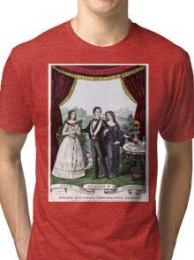 Grand, national, temperance banner - 1851 Tri-blend T-Shirt
