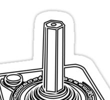 Retro Gamer - Play With Joystick Sticker