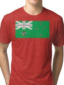 AUSSIE FLAG - CANBERRA SUPPORTER Tri-blend T-Shirt