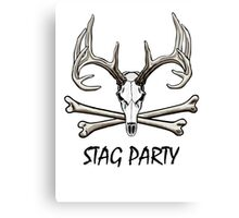 Stag Party Canvas Print