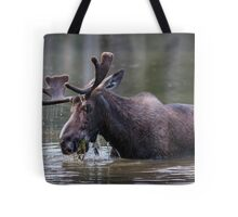 Munching Moose Tote Bag