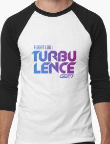 flight log turbulence got7 Men's Baseball ¾ T-Shirt