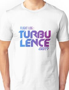 flight log turbulence got7 Unisex T-Shirt