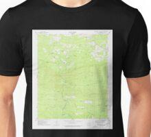 USGS TOPO Map Arkansas AR Chalybeate Mtn West 258175 1975 24000 Unisex T-Shirt