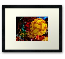 Puzzle Lamps (#2) Framed Print