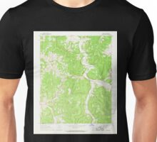 USGS TOPO Map Arkansas AR Osage 259323 1968 24000 Unisex T-Shirt