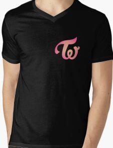 twice new color Mens V-Neck T-Shirt