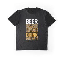 Beer Drinker Graphic T-Shirt