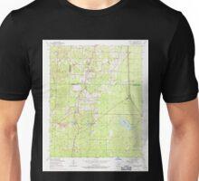 USGS TOPO Map Arkansas AR Spring Lake 259656 1954 24000 Unisex T-Shirt
