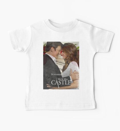 Caskett Wedding Baby Tee