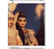 Burmese Bride and Groom iPad Case/Skin