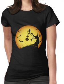 Halloween Party Gift Womens Fitted T-Shirt