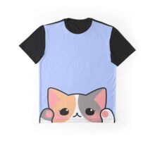 Calico cat face Graphic T-Shirt