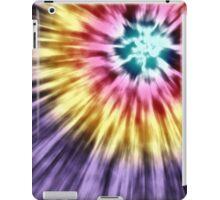 Abstract Purple Tie Dye iPad Case/Skin