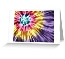 Abstract Purple Tie Dye Greeting Card