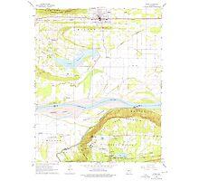 USGS TOPO Map Arkansas AR Atkins 257901 1961 24000 Photographic Print
