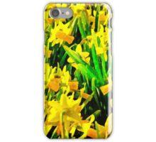Field Of Daffodils iPhone Case/Skin