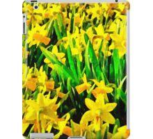 Field Of Daffodils iPad Case/Skin