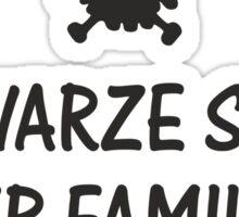 Schwarze Schaf der Familie Sticker