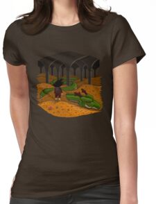 The Desolation of Shenron Womens Fitted T-Shirt