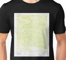 USGS TOPO Map Arkansas AR Chickalah Mountain West 258197 1972 24000 Unisex T-Shirt