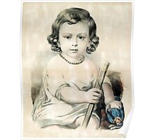 Grandpapa's cane - Circa 1880 Poster