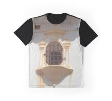 Gold Chapel Window Graphic T-Shirt