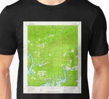 USGS TOPO Map Arkansas AR Avant 257916 1962 24000 Unisex T-Shirt