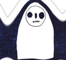 Three Spooky Ghosts Sticker