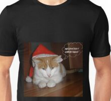 ME(OW)RRY CHRISTMAS! Unisex T-Shirt