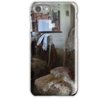1916  Packard   Ladies Town Car Limousine Interior  (2) iPhone Case/Skin