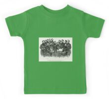 Grant and his generals distinguished commanders, in the campaign against Richmond - 1865 Kids Tee
