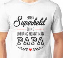Superheld Papa Unisex T-Shirt