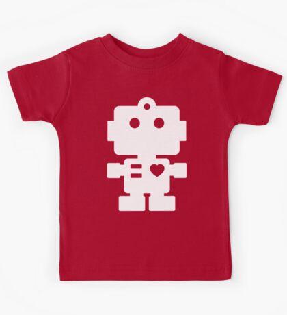 Robot - black & white Kids Tee