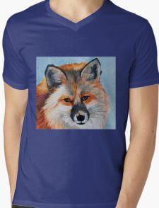 Beautiful Fox Mens V-Neck T-Shirt