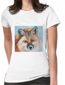 Beautiful Fox Womens Fitted T-Shirt