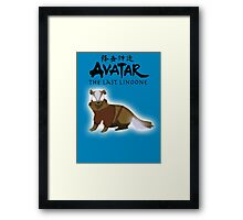 Avatar: The Last Linoone Framed Print